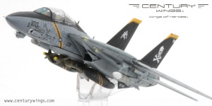 F-14B Tomcat USN VF-103 Jolly Rogers, AA100 Diecast Model Airplane