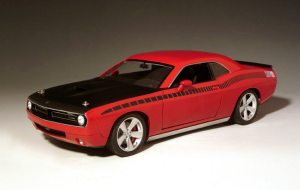 Cuda Concept Rallye Red Model Car