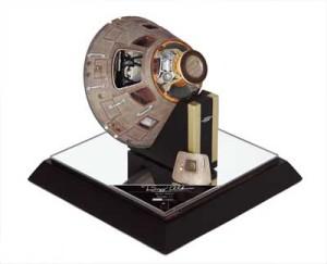 Buzz Adrin Signed Apollo Spacecraft Model