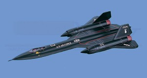 Aircraft Models Corp. SR-71 Blackbird USAF Airplane Model