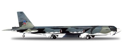 "Herpa B-52H Stratofortress USAF 319th BW ""Red River Raiders"" Airplane Model"