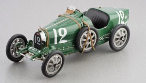 CMC Models 1924 Bugatti T35, England, British Racing Green Diecast Car