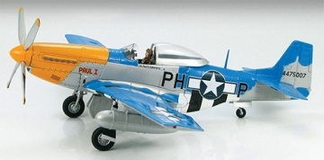 Hobby Master P-51 Mustang Paul 1 Signed by Col. Paul H. Poberezny