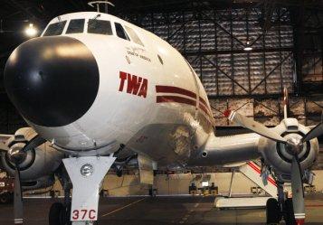 Lockheed L-1049G Super Connie TWA