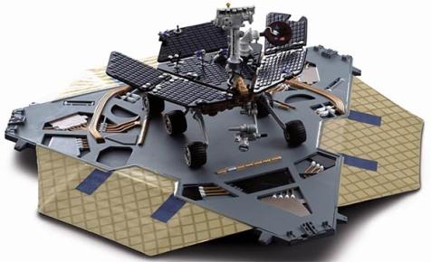 Sun Star NASA Spirit/Opportunity Mars Exploration Rover Diecast Replica